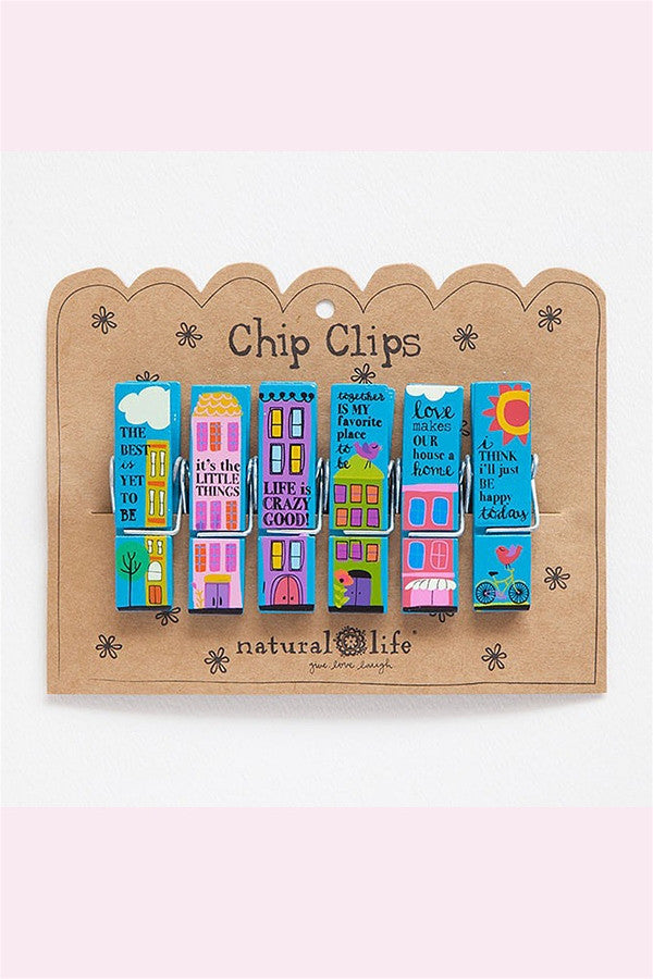 Chip Clip Set - City Sentiments  - CITYSENTIMEN