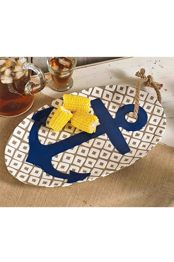 Oval Anchor Platter