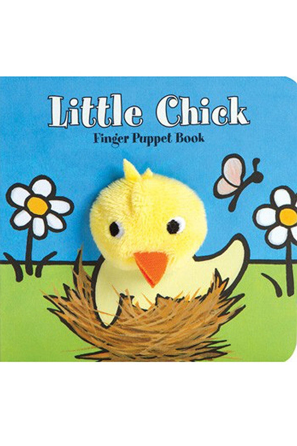 """Little Chick Finger Puppet"" Book"