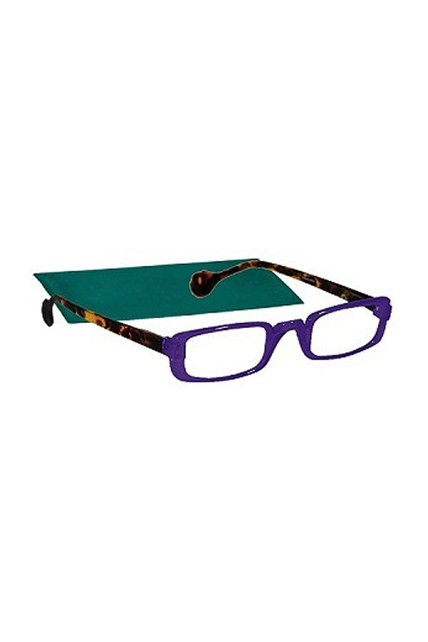 "Reading Glasses - Purple ""Outside the Lines""  - 1.50"
