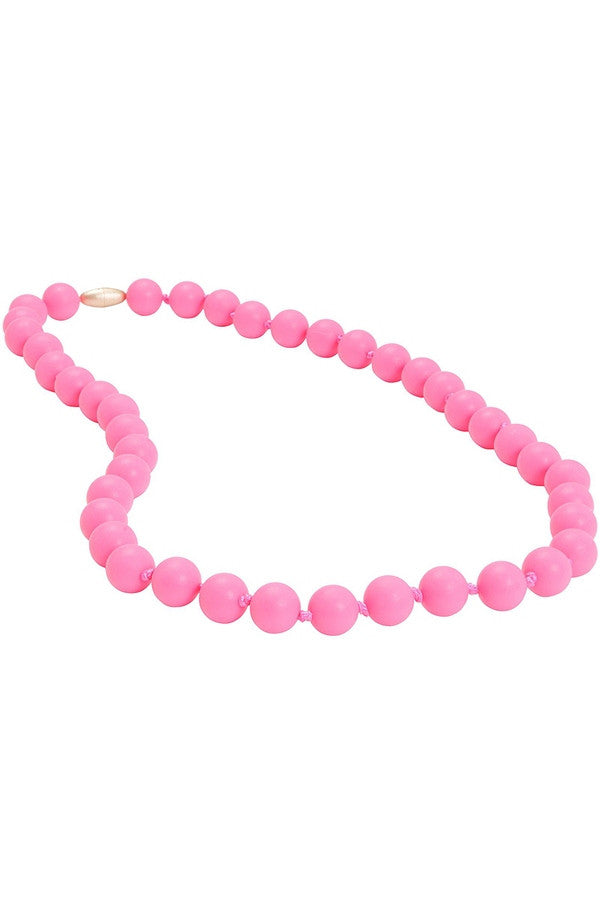 Jane Baby Teething Necklace - Pink