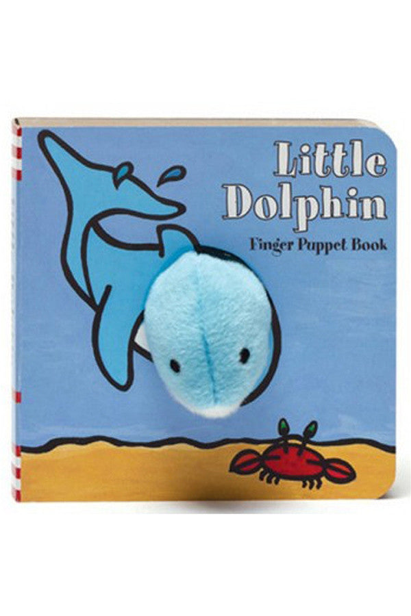 Finger Puppet Book - Little Dolphin