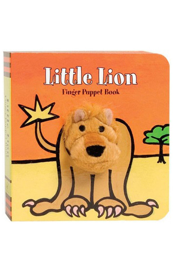 Finger Puppet Book - Little Lion