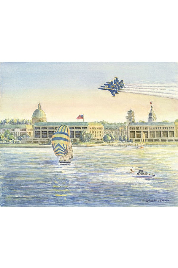 Local Card Pack - Blue Angels on the Severn