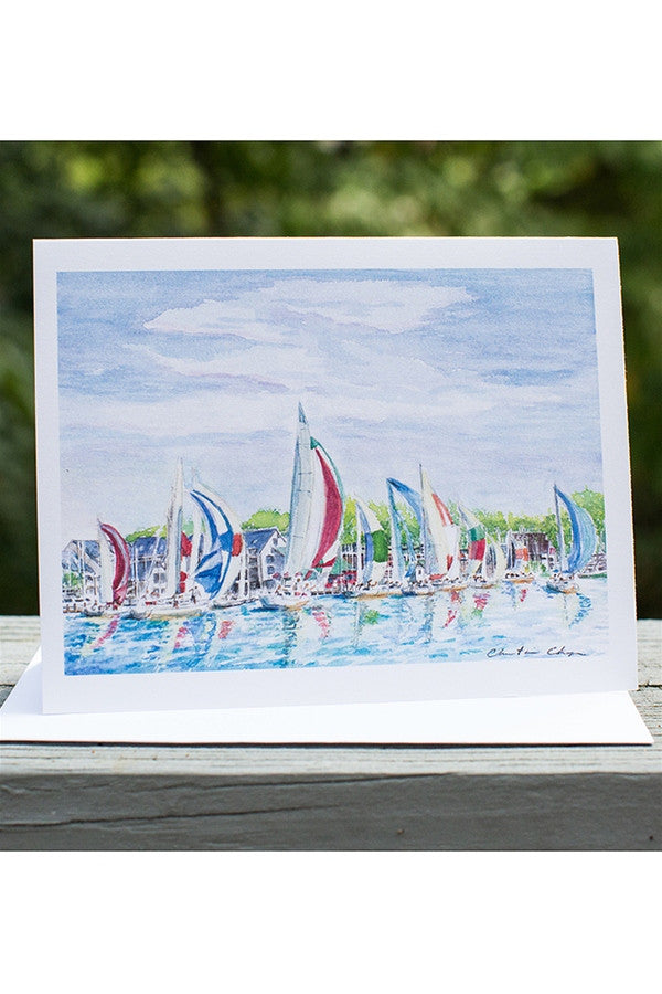Local Card Pack - Finish Line Sailboats