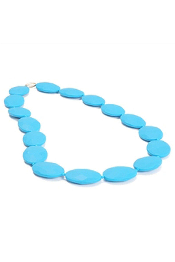 Hudson Baby Teething Necklace - Deep Sea Blue