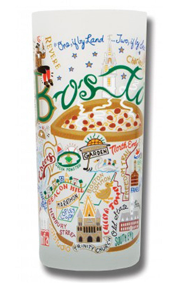 Frosted Boston Tumbler Cup