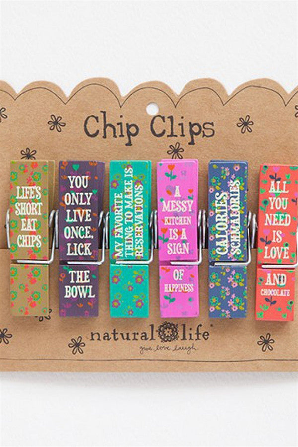 Chip Clip Set - Food Fun  - foodfun