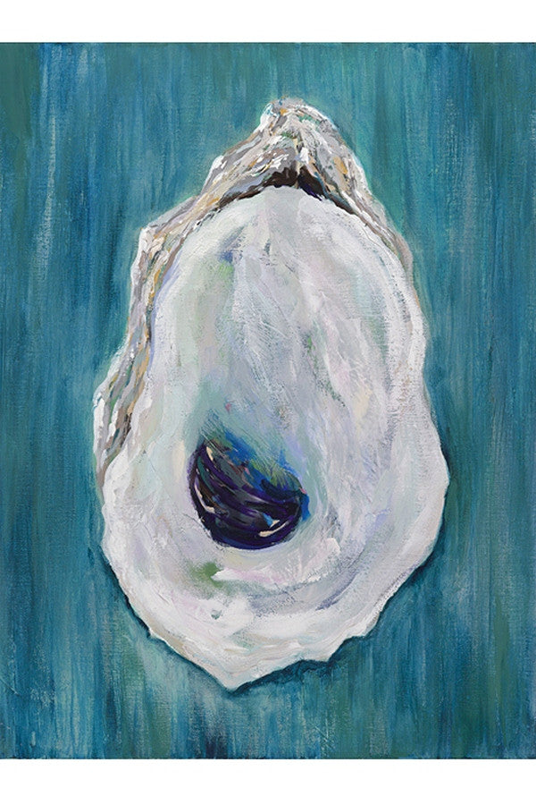Kim Hovell Matted Print - Blue Point Oyster  - BLUEPOINT