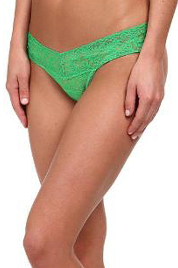 Low Rise Thong - Verdant Green  - VERDANTGREEN