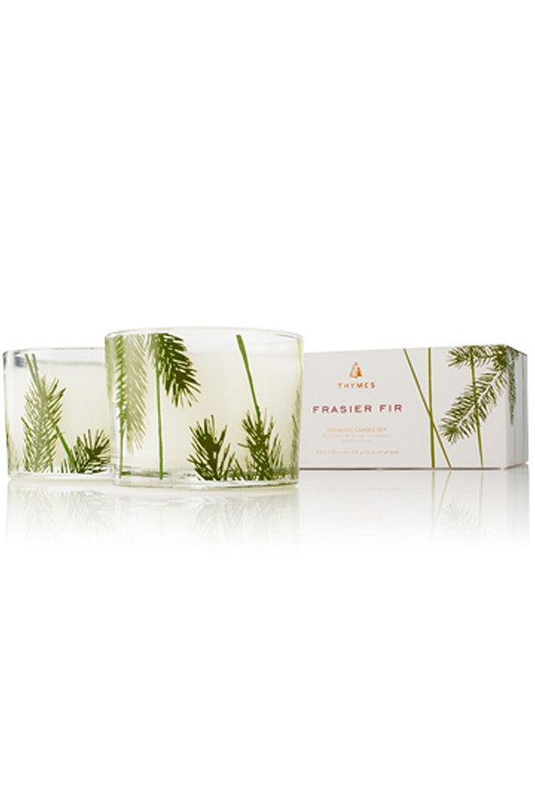 Frasier Fir Double Candle Pack - Mini Pine