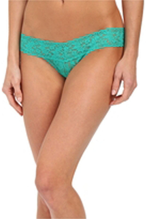 Low Rise Thong - Sweet Mint Green  - SWEETMINT