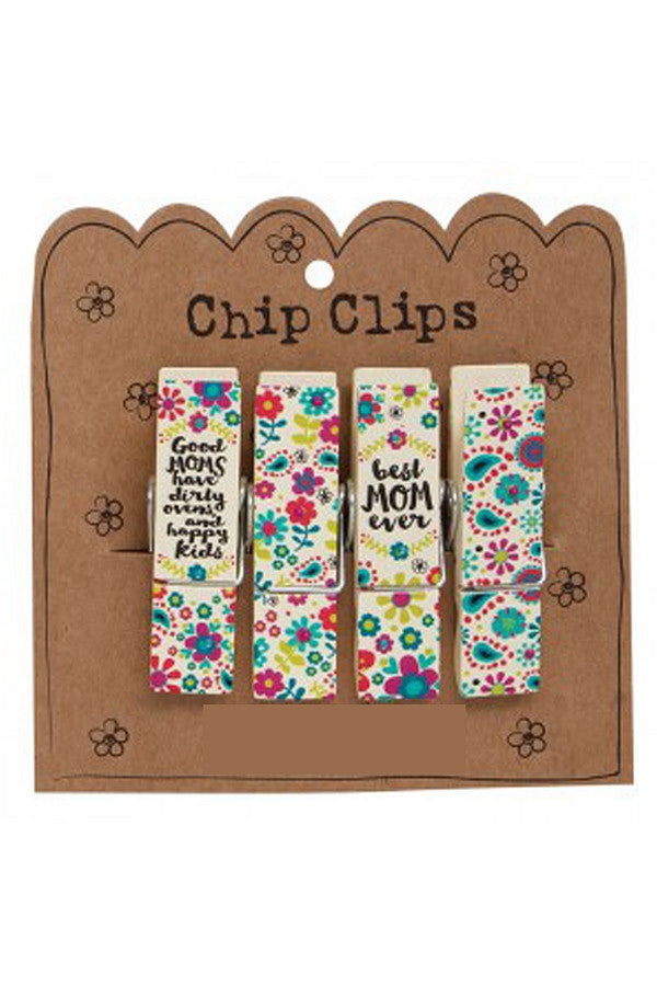Chip Clip Set - Best Mom Ever  - BESTMOMEVER