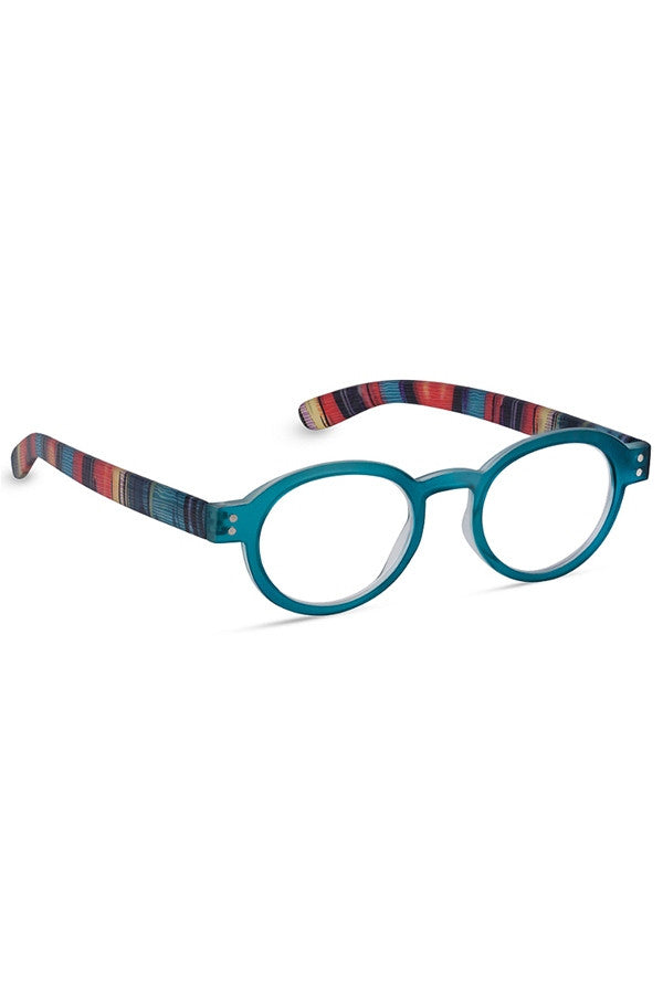 "Reading Glasses - Teal ""Bright Eyed""  - 2.50"