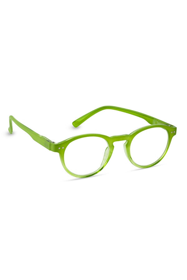 "Reading Glasses - Lime Green ""Elementary""  - 2.50"