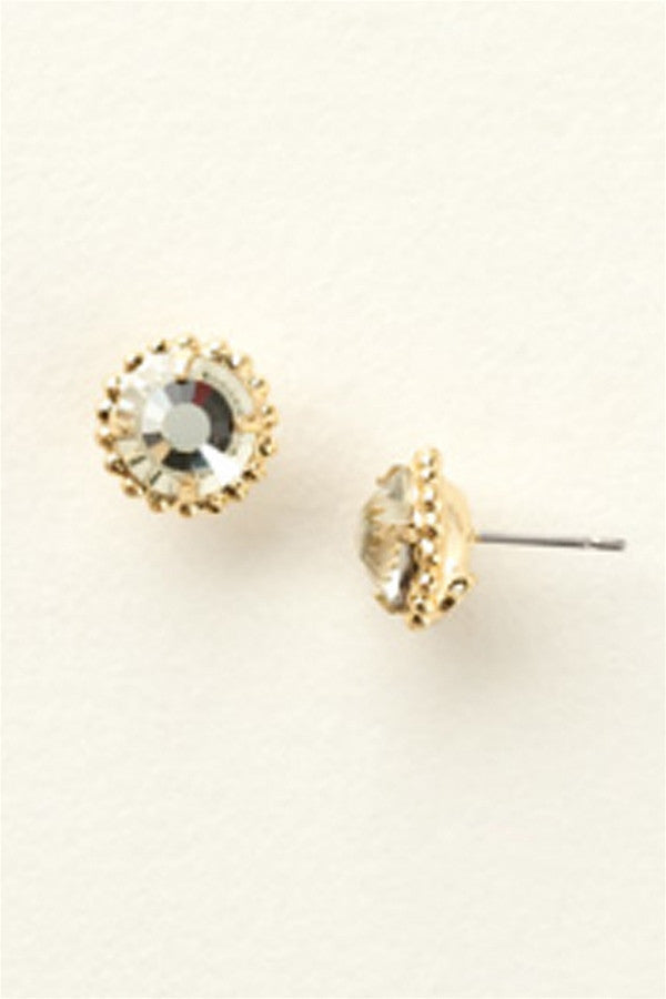 Simplicity Stud Earring - Bright Gold Jonquil