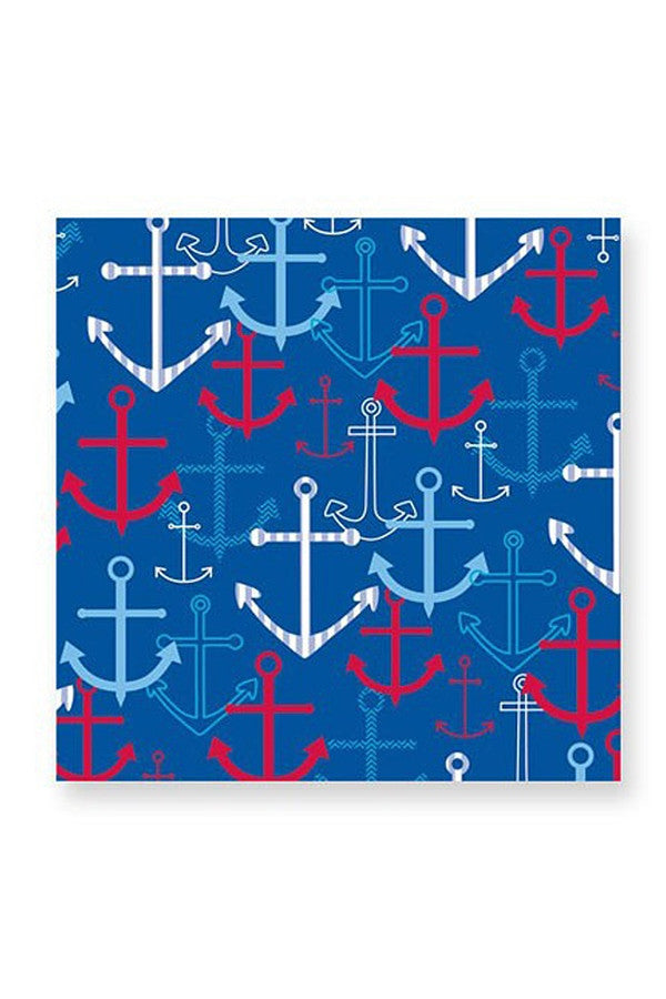 Cocktail Napkins - Anchors Away  - ANCHORSAWAY