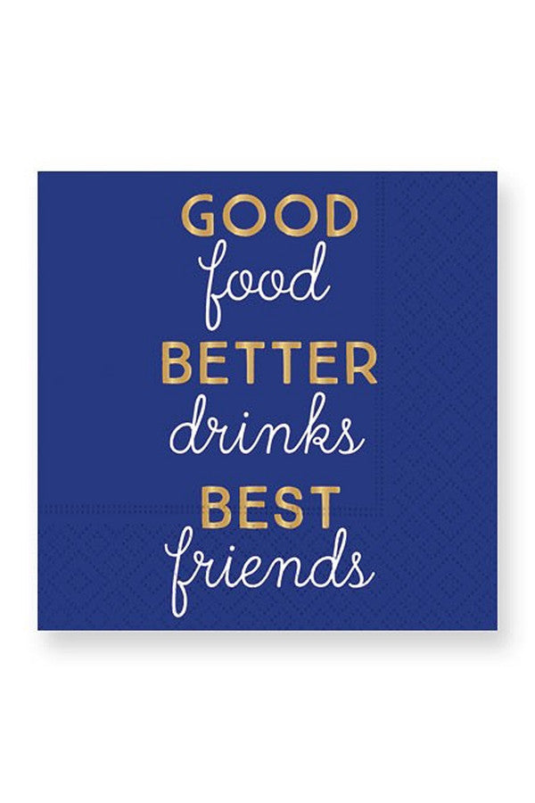 Cocktail Napkins - Good Better Best  - GOODBETTERBE