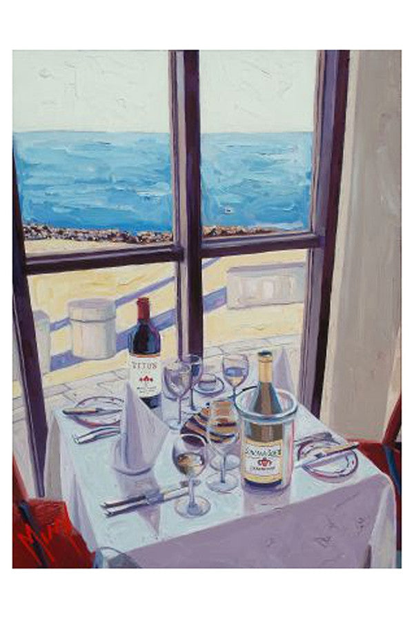 Wine Art - What a View  - WHATAVIEW