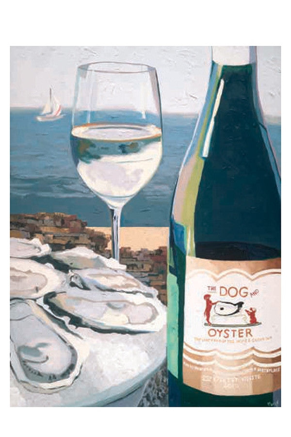 Wine Art - Dog & Oyster  - DOG&OYSTER