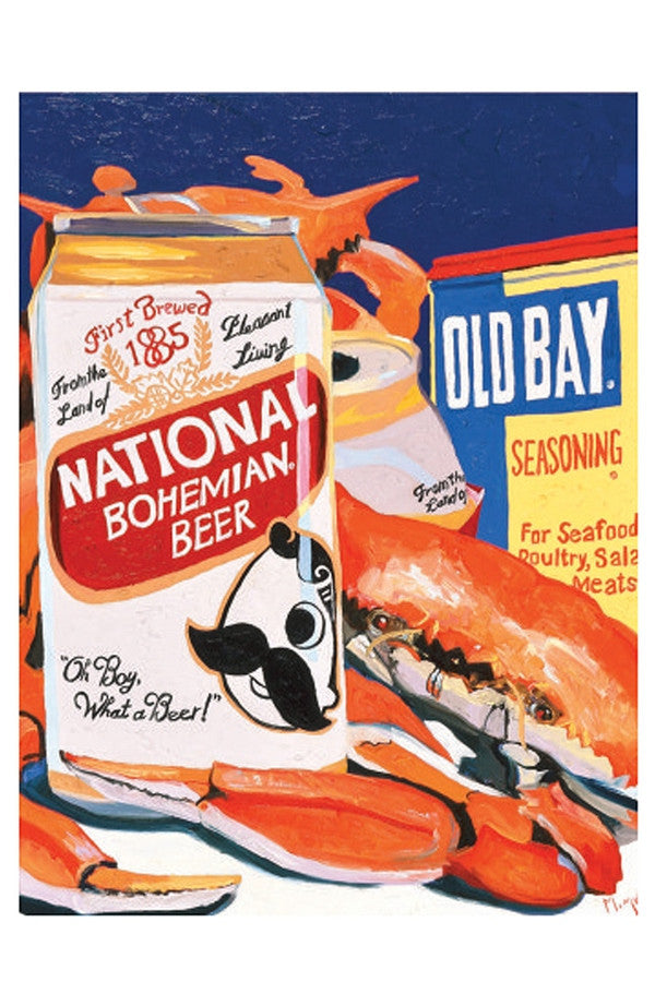 Wine Art - Natty Boh  - NATTYBOH