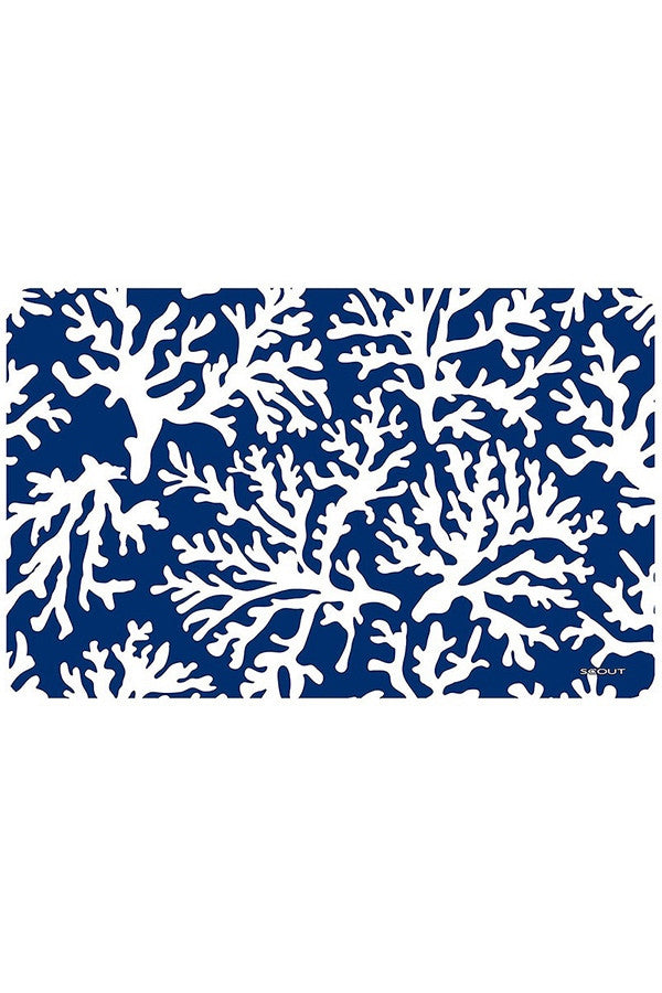 "SCOUT Floor Mat - Navy Blue ""Reefer Sutherland"""