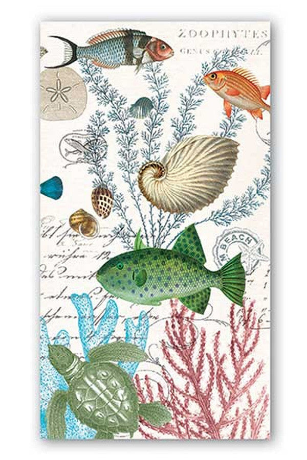 Hostess Napkins - Sea Life  - SEALIFE