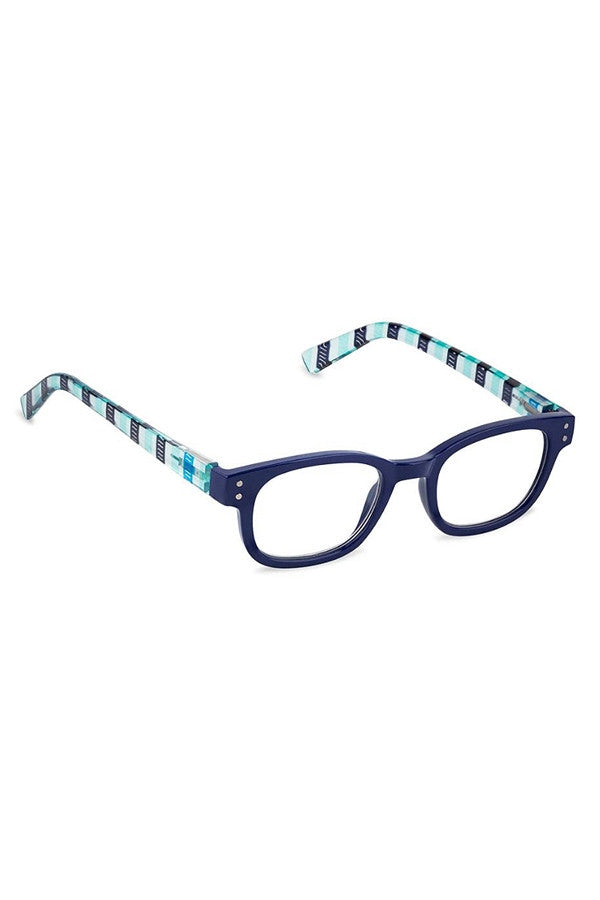 Reading Glasses - Blue Overboard  - 2.50