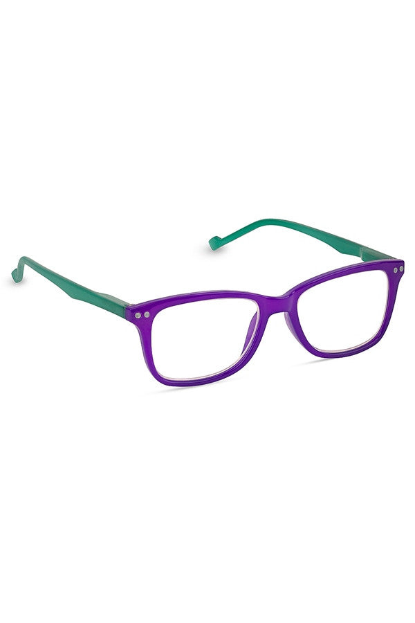 "Reading Glasses - Purple ""New Wave""  - 2.50"