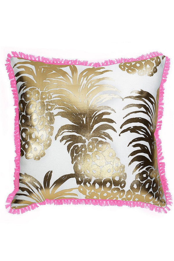 Lilly Large Pillow - Flamenco Pineapple  - FLAMENCO