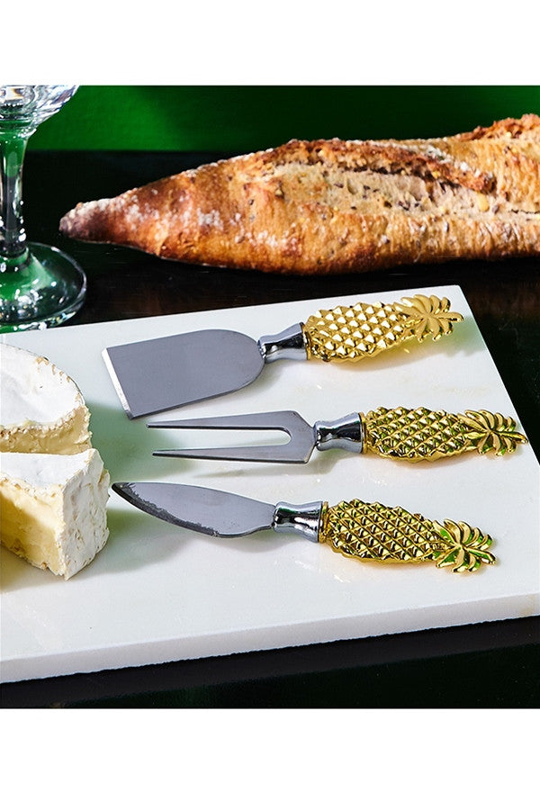 Pineapple Cheese Knives Set