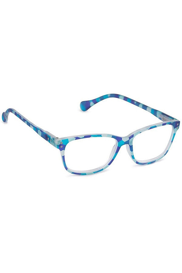 "Reading Glasses - Blue ""Style 18""  - 2.50"