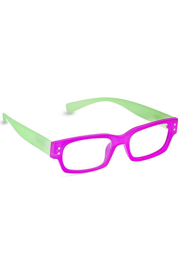 "Reading Glasses - Pink & Lime ""Prepster""  - 2.50"