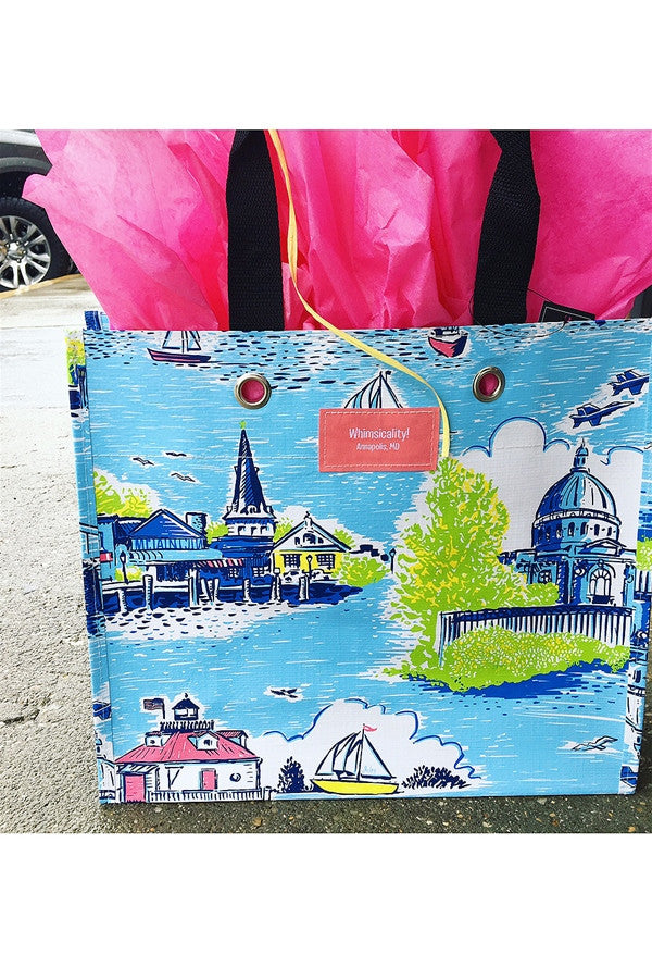 "Large Package Gift Bag - ""Exclusive Annapolis at Whimsicality"""