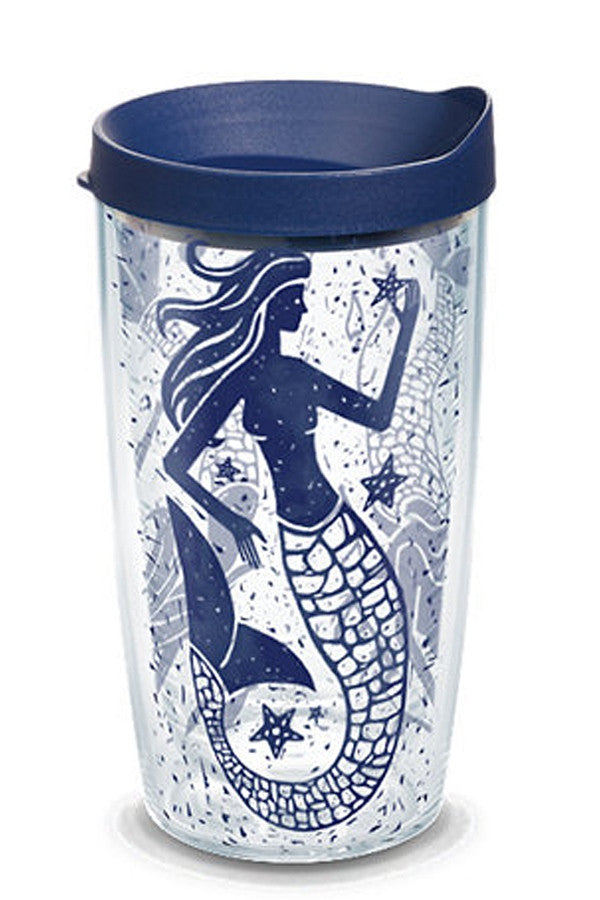 16oz Wrapped Tumbler - Mermaid Collage  - MERMAIDCOLLA
