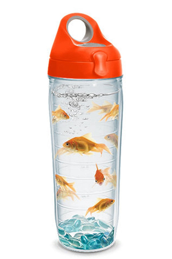 Wrapped Water Bottle - Goldfish Orange  - GOLDFISH