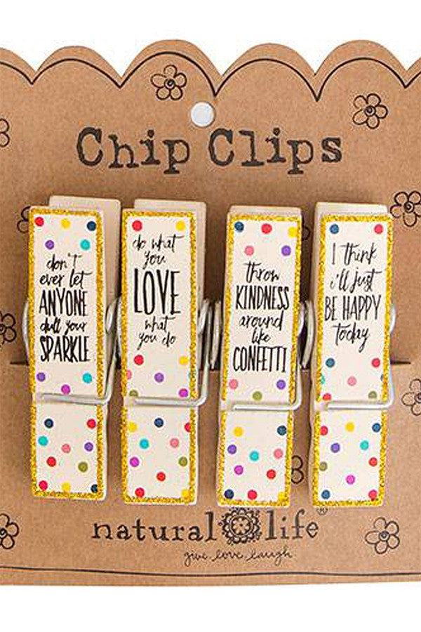 Chip Clip Set - Sparkle Love  - SPARKLELOVEK