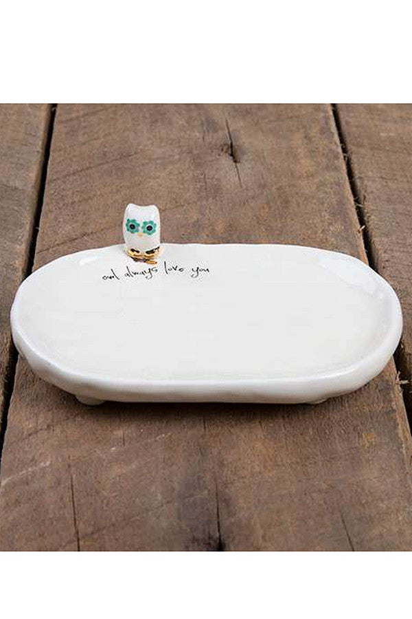 Little Friend Trinket Dish - Owl  - OWL
