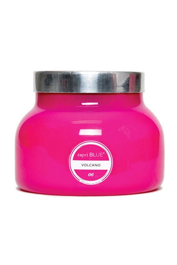 19oz Candle - Volcano - Pink