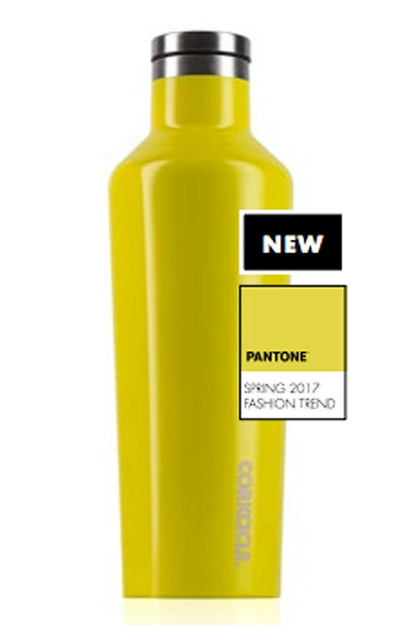 Modern Corkcicle Canteen - Lemonade Yellow  - LEMONADE