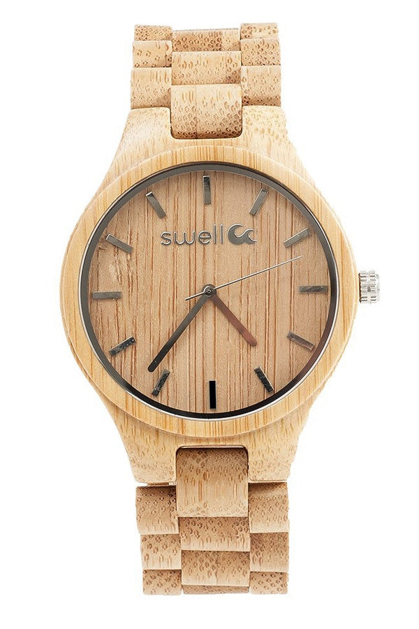 Swell Watch - Classic Bamboo  - ONYX