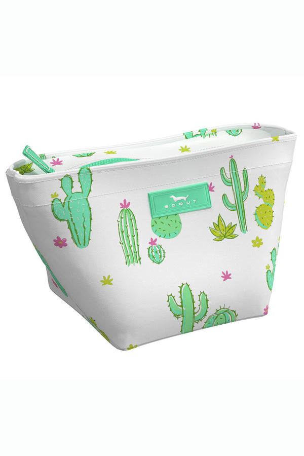 "Crown Jewels Cosmetic Case - ""Cactus Makes Perfect"" WYWH"