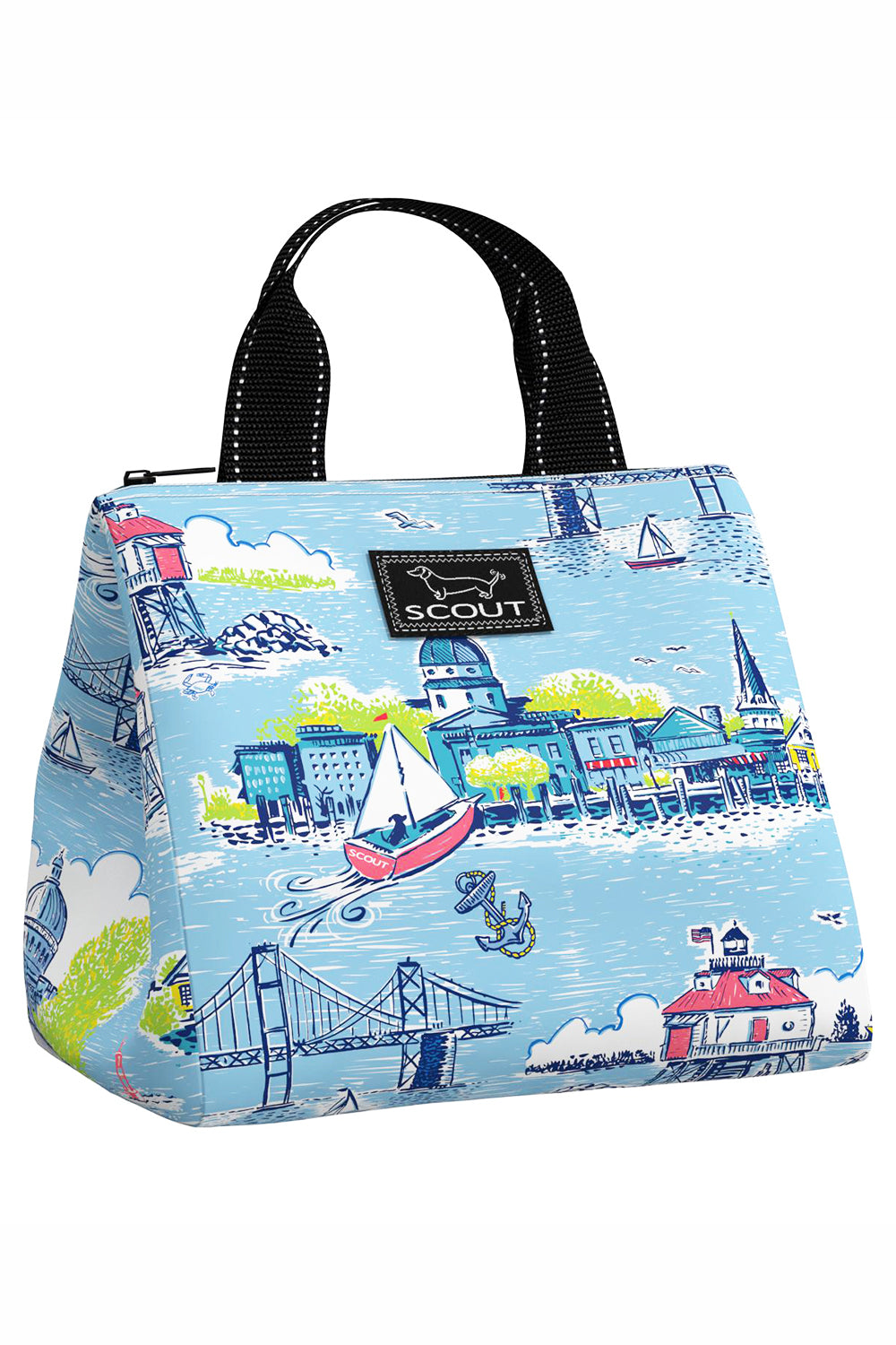 "Eloise Lunch Cooler - ""Exclusive Annapolis at Whimsicality"""