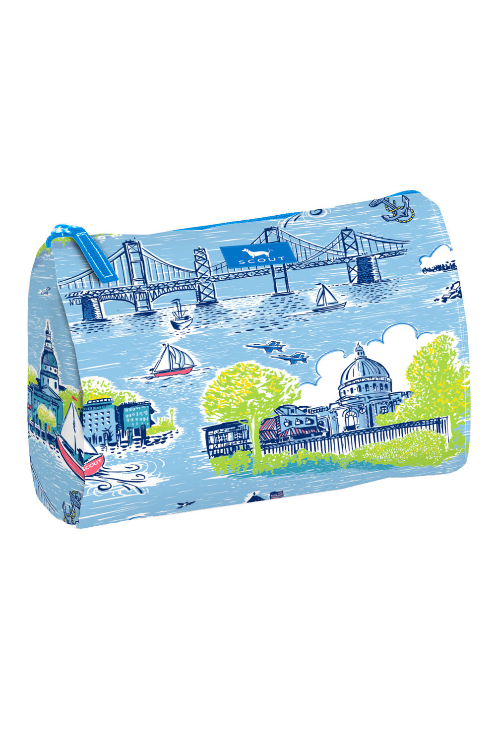 "Packin' Heat Cosmetic Bag - ""Exclusive Annapolis at Whimsicality"""