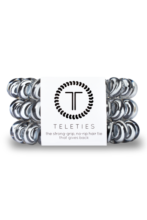Teleties Hair Ties - Zebra