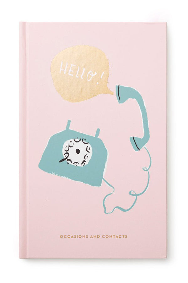 Kate Spade Occasions & Addresses Journal - Hello