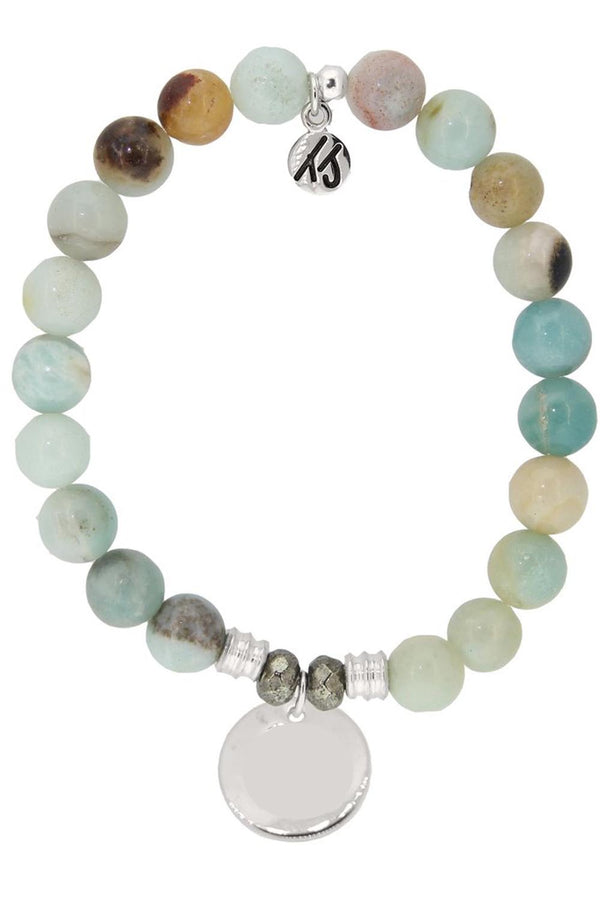 TJ Beaded Bracelet Exclusive - Amazonite Stone