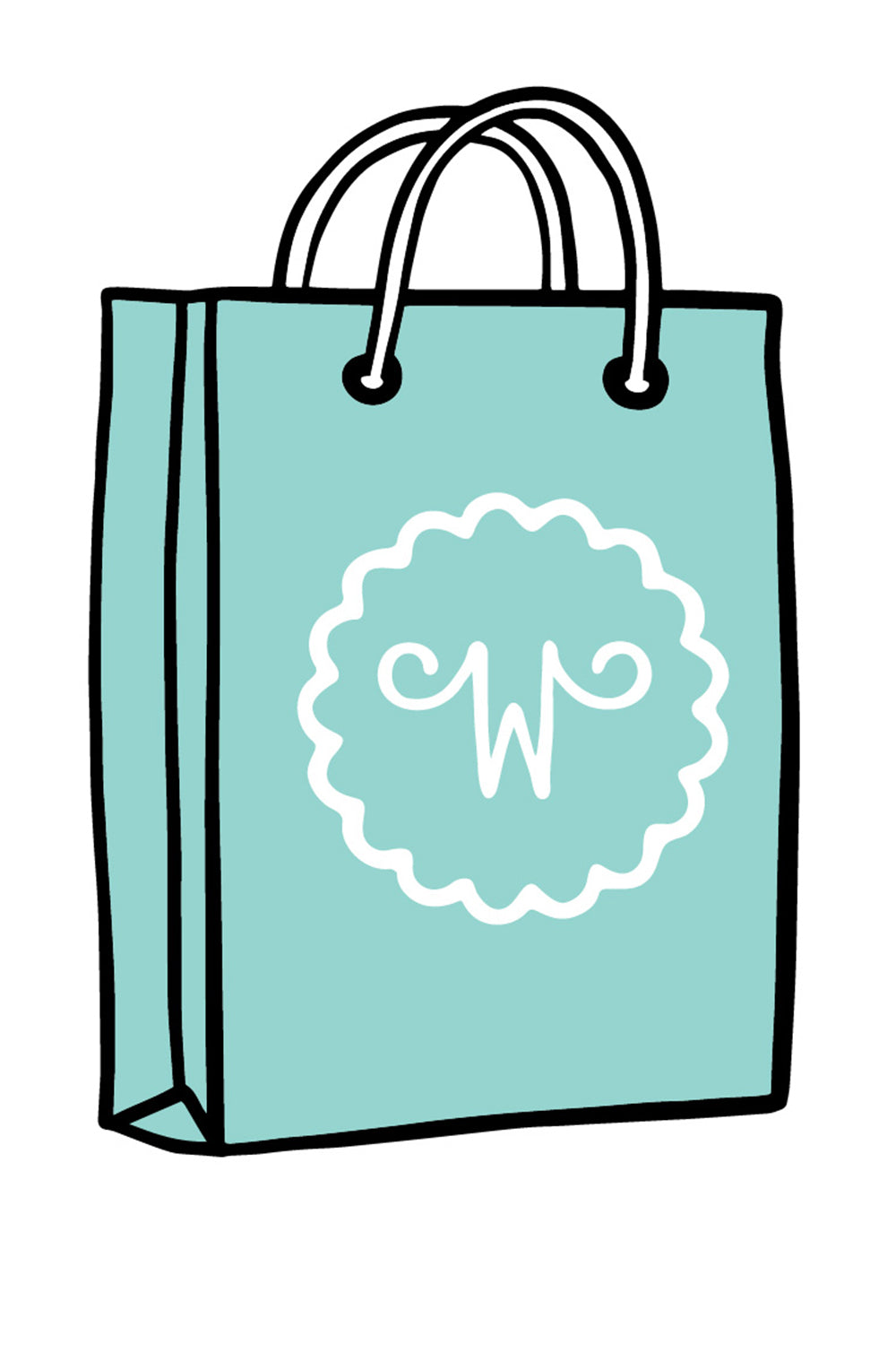Trendy Sticker - Whimsy Bag