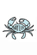 Trendy Sticker - Crab
