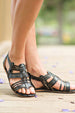 SIDEWALK SALE ITEM - Cara Sandal - Black